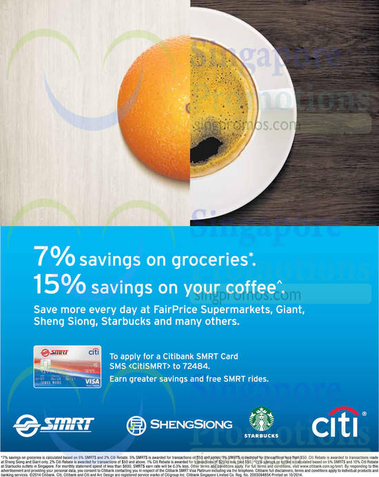 Citibank Card Offers 2 Oct 2014