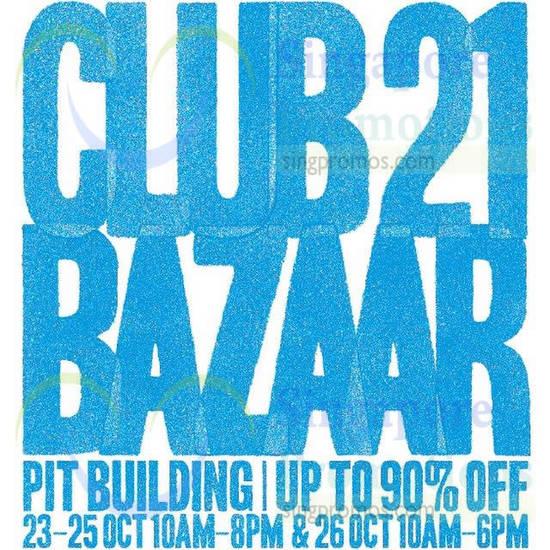 Club 21 Bazaar Event Details