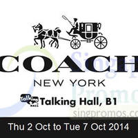 Read more about Coach Promotion @ Takashimaya 2 - 7 Oct 2014