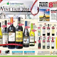 Read more about Cold Storage International Wine Fair @ Vivocity 6 - 12 Oct 2014