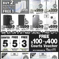 Read more about Courts 2-Days Cooling Appliances Offers 9 - 10 Oct 2014