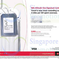 DBS Altitude Visa Apply & Get 5,000 Miles 1 Sep - 31 Dec 2014