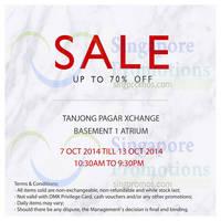 Read more about DMK Sale @ Tanjong Pagar Xchange 7 - 13 Oct 2014