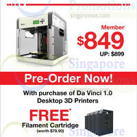 Read more about Da Vinci Desktop 3D Printer Pre-Orders Now Open @ Challenger 1 Oct 2014