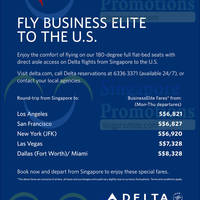 Read more about Delta Air Lines Business Class Fare Offers 1 Oct 2014