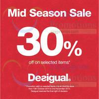 Read more about Desigual Mid Season Sale 13 Oct - 2 Nov 2014