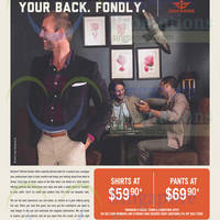 Read more about Dockers $59.90 Shirts & $69.90 Pants Promo 10 Oct 2014