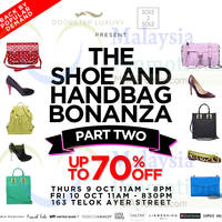 Read more about Doorstep Luxury Shoe & Handbag Bonanza 9 - 10 Oct 2014