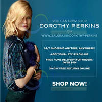 Read more about Dorothy Perkins Now Available Online 16 Oct 2014