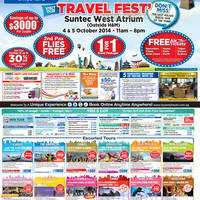 Read more about Dynasty Travel Fest' Fair @ Suntec 4 - 5 Oct 2014