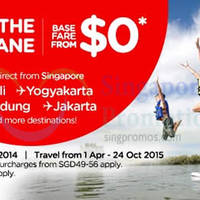 Read more about Air Asia From $0 (Base Fare) Promo Air Fares 6 - 12 Oct 2014
