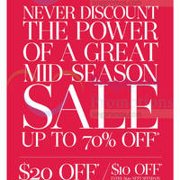 Read more about Robinsons Mid Season Sale 9 Oct 2014