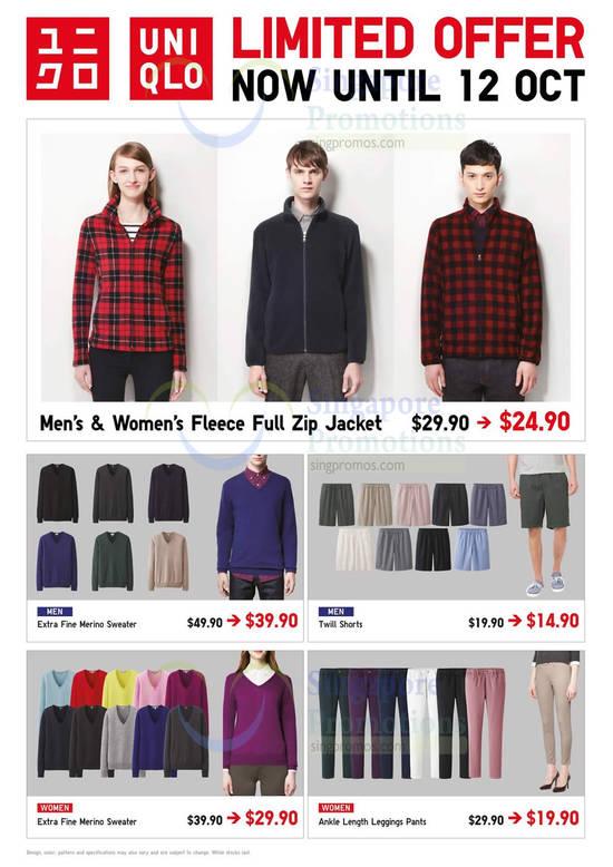 Fleece Full Zip Jacket, Men Sweater, Shorts, Women Sweater, Leggings Pants