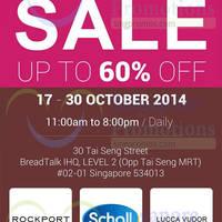 Read more about Footwear Marketing Mega Shoes Sale @ BreadTalk IHQ 17 - 30 Oct 2014
