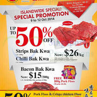 Read more about Fragrance Foodstuff Bakkwa & More Promo Offers 10 - 12 Oct 2014