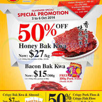 Read more about Fragrance Foodstuff Bakkwa & More Promo Offers 3 - 6 Oct 2014