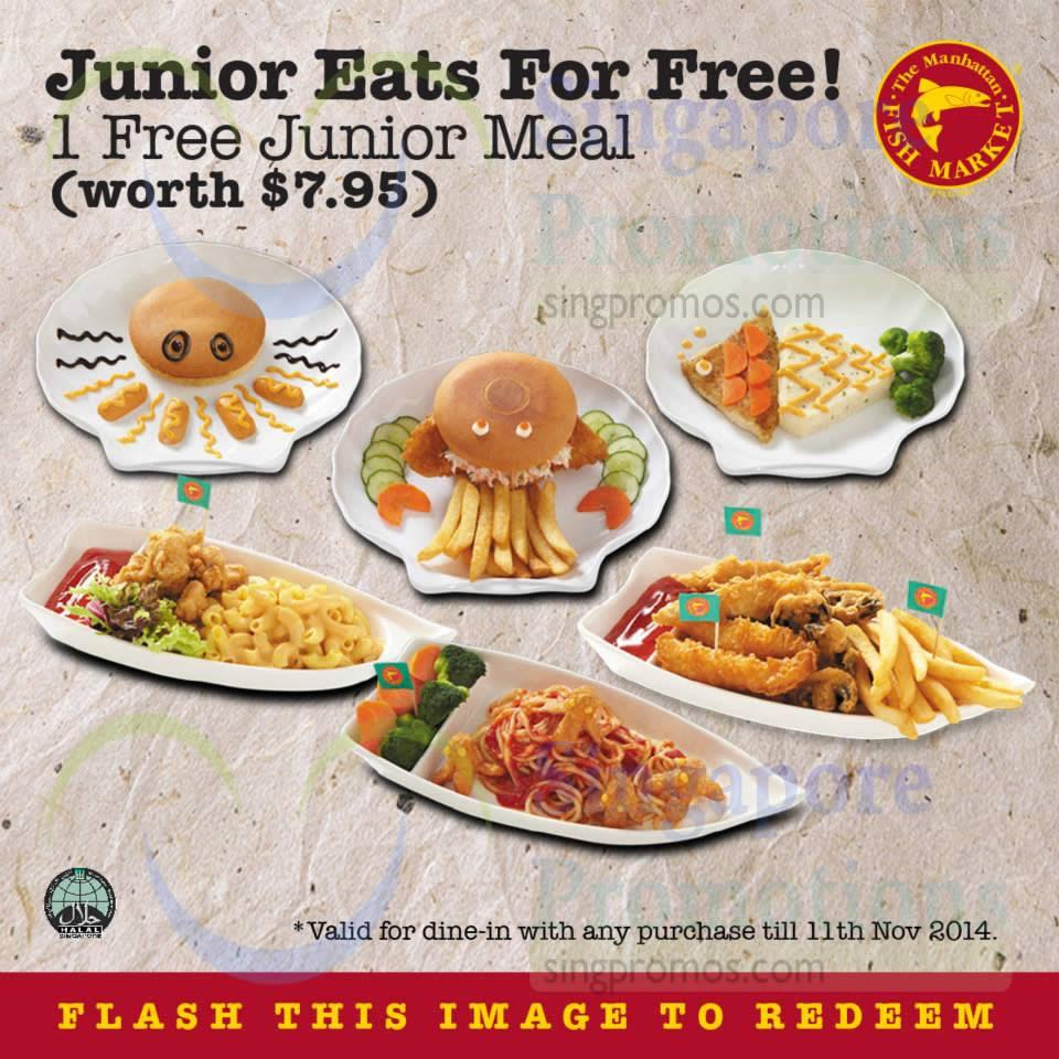 Free Junior Meal