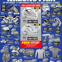 Read more about Golf House Mizuno Fair 29 Oct - 2 Nov 2014