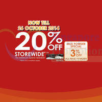 Guardian 20% OFF Storewide For Passion Cardmembers 22 - 26 Oct 2014