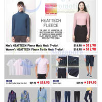 Uniqlo Islandwide Limited Offers 24 - 26 Oct 2014