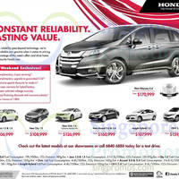 Read more about Honda Accord, City, Civic, Cr-V, Insight, Jazz & Odyssey Offers 11 Oct 2014