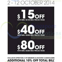 i.t Labels Golden Week Promo 2 - 12 Oct 2014