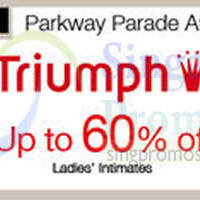 Read more about Triumph Promotion @ Isetan Katong 27 Oct - 2 Nov 2014