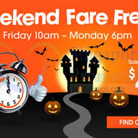 Jetstar From $49 Weekend Promo Air Fares 31 Oct - 3 Nov 2014