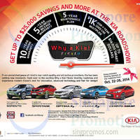 Kia Roadshow @ VivoCity 22 - 26 Oct 2014