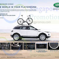 Read more about Land Rover Range Rover Evoque Features & Offer 11 Oct 2014