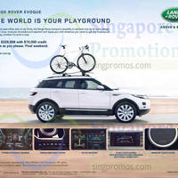 Read more about Land Rover Range Rover Evoque Offer 18 Oct 2014