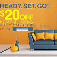 Read more about Lazada Singapore $20 OFF Home & Living Items Coupon Code 10 Oct 2014
