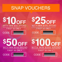 Read more about Lazada Singapore $100 OFF 1-Day Coupon Codes 24 Oct 2014