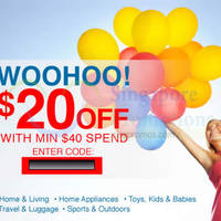 Read more about Lazada Singapore $20 OFF Coupon Code 28 Oct 2014