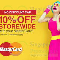 Read more about Lazada 10% OFF Storewide Promo (NO MIN Spend/Discount Cap) 30 Oct 2014
