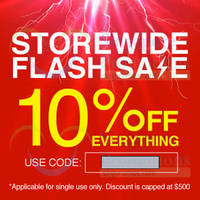 Read more about Lazada 10% OFF Storewide Coupon Code (NO MIN Spend) 31 Oct 2014