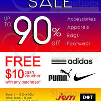 Read more about Link THM Mega SALE Up To 90% OFF 7 - 12 Oct 2014