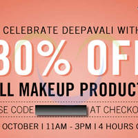 Read more about Luxola 30% OFF Makeup 4hr Coupon Code (NO Min Spend) 14 Oct 2014