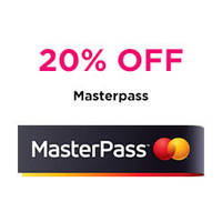 Read more about Luxola 20% OFF Storewide For MasterCard MasterPass Users 17 Oct - 31 Dec 2014