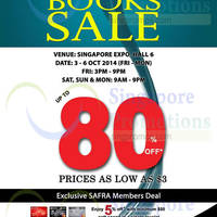 Read more about MPH Bookstores Books SALE Up To 80% Off @ Singapore Expo 3 - 6 Oct 2014