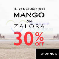 Read more about Mango & H.E. 30% OFF Sale 16 - 22 Oct 2014