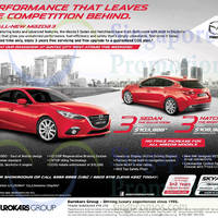 Read more about Mazda 3 Sedan & Hatchback Features & Offers 18 Oct 2014