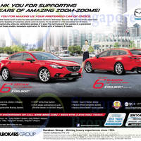 Mazda 3 & Mazda 6 Features & Offers 25 Oct 2014