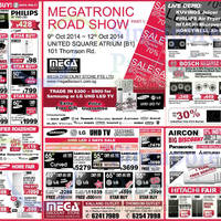 Read more about Mega Discount Store TVs, Appliances & Air Conditioner Offers 11 Oct 2014