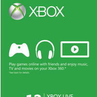 Microsoft Xbox Live Gold Card FREE Games Promo 1 Oct - 31 Dec 2014