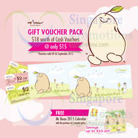 Mr Bean $15 For 9x $2 Vouchers Pack 31 Oct 2014