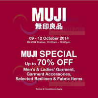 Read more about Muji Sale Event @ ION Orchard 9 - 12 Oct 2014