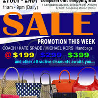 Read more about MyBagEmpire Branded Handbags & Accessories Sale @ Compass Point 27 Oct - 2 Nov 2014