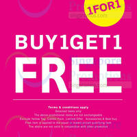 NET Buy 1 Get 1 FREE Promo 20 - 22 Oct 2014