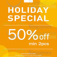 Read more about NET 50% OFF Holiday Special Promotion 3 - 6 Oct 2014